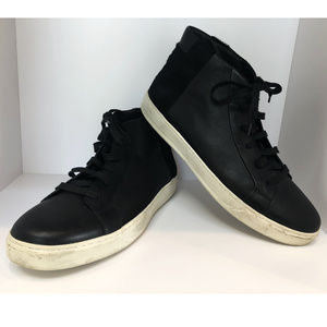 Vince Chukkas in Leather & Calf Hair size 12M